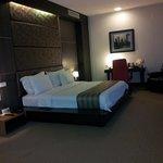the bedroom in manhattan suite