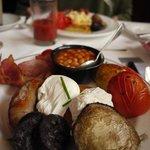 FULL English breakfast- delish!!!