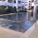 New twin 'adult only' pool.  This is the west end. Duplicate on east end.  Shallow end 2ft-10in