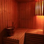 Sauna dans la salle de bain!