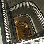 le grand escalier central