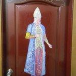 painting on door