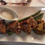 Stena Line prato principal: carneiro.