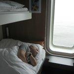 Stena Line: acordando no mar.