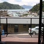 View of the harbour in Picton
