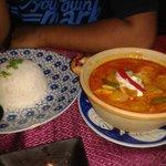Khmer cuisine at the restaurant