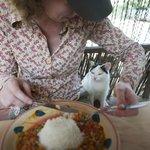 sharing diner