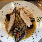 Sea Food pasta soup