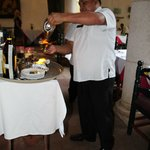 Mayan Coffee being prepared