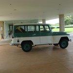 Jeep histórico que usaron Niemeyer y Kubitschek en la construcción de Brasilia