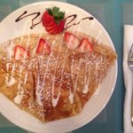 Bavarian cream crepe
