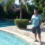 As piscinas são ótimas... Nem contei quantas são!