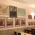 The Chairman Mao room will inspire you to finish your food