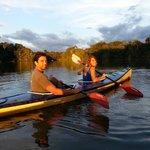 Kayak en la selva lodge