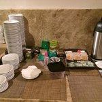 A mesa de chá para 250 quartos (para 4 pessoas)