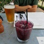 blackberry spritzer - VERY strong!