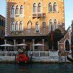 Hotel facade View from the Grand Canal