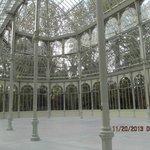 Visão interna do palácio de Cristal