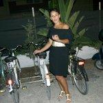 mia moglie e bici