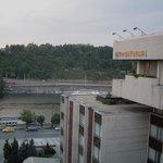 Vista do terraço do hotel