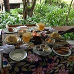 Desayuno Gipsy Suite
