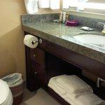 bathroom - good space and storage