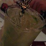 Fogo de Chao's house drink - a Brazilian caipirinha