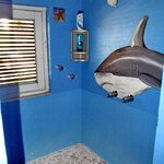 Shark bathroom