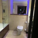 Bathroom with mood lighting