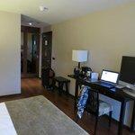 Room view to door