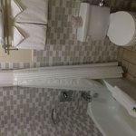Second-floor room's bath