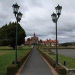 Entry to Rotorua museum