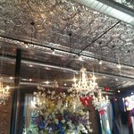 Gorgeous Restoration...tin ceilings looking fine!