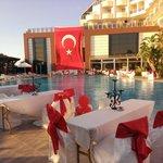 Türkischer Abend am Pool