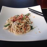 banana blossom and chicken salad - absolutely delicious