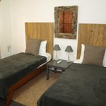 Twin bedroom (Villa with swimming pool)
