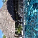 Beachside pool and bar