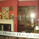 A reconstruction of Thomas Hardy's study