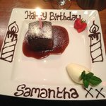 Sticky Toffee Pudding - Birthday Treat