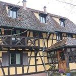 la maison alsacienne typique