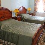 Номер с двумя двухспальными кроватями