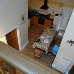 View of Kitchen from upstairs