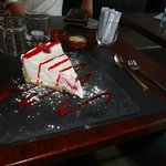 The BEST cheesecake I have ever tasted!
