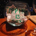 Make sure to tip your bartender, Luka!