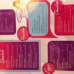 Breakfast menu - The Diner