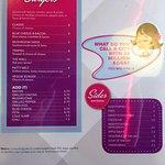 Menu page 3 - The Diner