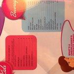 Menu page 5 - The Diner