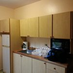 Suite small kitchen