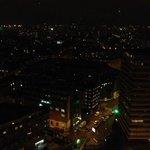 vue de la chambre la nuit