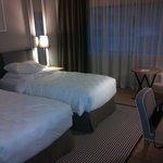 Twin room 8th floor
